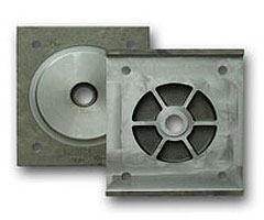 Sand casting, material GS 45, weight 45 kg, application steel industry