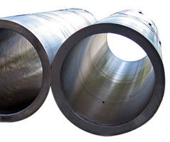 Spun cast tubes, material stainless steel